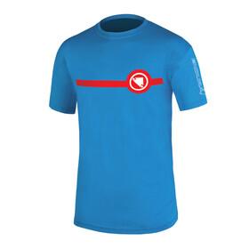 Endura Stripe T-Shirt Herren Ozeanblau